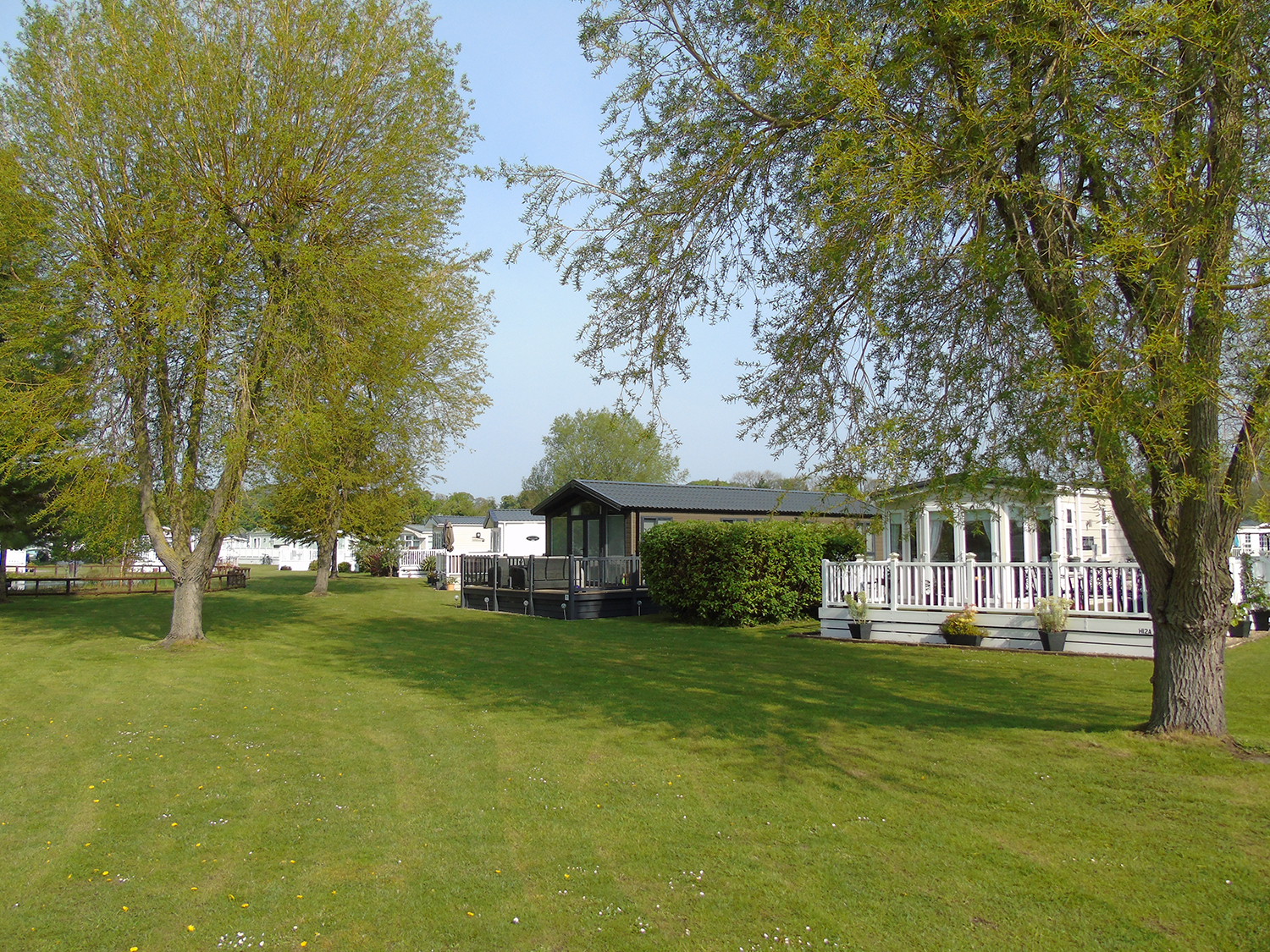 view of holiday homes at fir trees